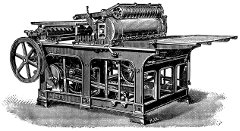 The Internet has changed communication just as the printing press did in the 1400s